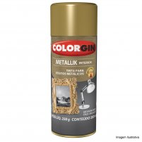 Spray Metallik Incolor Brilhante 350ml - Colorgin